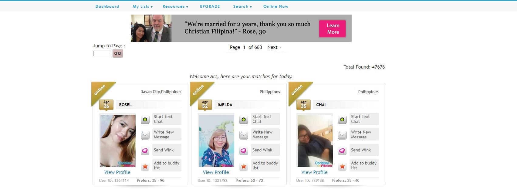 christian filipina reviews